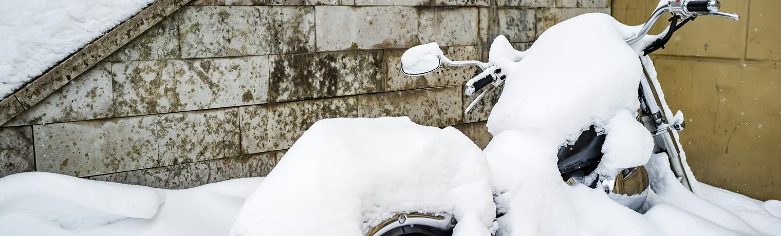 snow preparation for your motorcycle